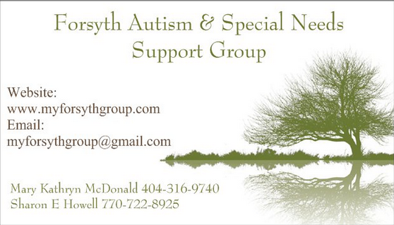 Forsyth Autism & Special Needs Support Group